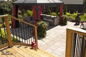 Dalle En Bois Pour Jardin terrasse en bois sur patio en dalle