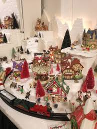 disney section of my dept 56 north pole christmas village dept