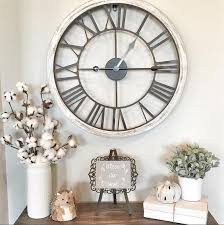 Large Shabby Chic Wall Clock by 40 Cool Wall Clocks For Any Space Of The Home Decor Advisor