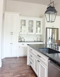 kitchen makeover sherwin williams alabaster kitchen cabinets and
