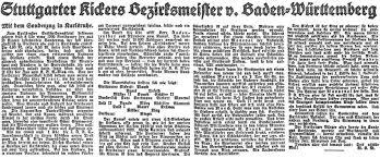 Bezirksliga Baden Baden Ffc History