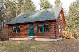 log house on the market a log cabin in new hshire boston magazine