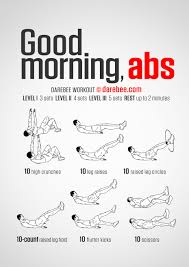 Great Best Good Morning Abs Workout Workout Plans Pinterest Morning Ab