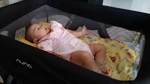 Mini Travel Crib by Nuna Mini Bubblymilkmom2babies