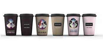 Coffee Cup Designs by Break Coffee On Packaging Of The World Creative Package Design