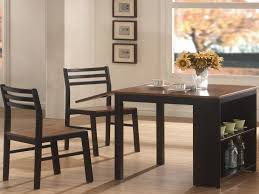 small apartment dining room ideas area brown cement floor classic