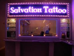 salvation tattoo lounge art and design