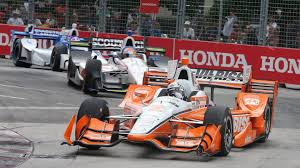 indycar josef newgarden takes victory in toronto the drive