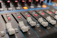 chambre d enregistrement mélangeur dans la chambre d enregistrement bouton de plan