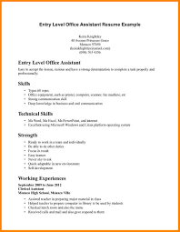 Administrative Assistant Skills Resume Examples Of Cv Medical