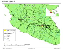 Map Of Mexico With States by Gis 2013 Maps Of Mexico Gis 4043 Week 3