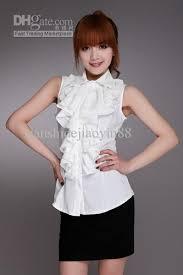 sleeveless ruffle blouse wholesale 2012 arrival fashion sleeveless shirts