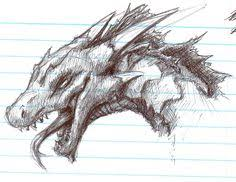 best dragon drawings similar threads simple abstractish drawing