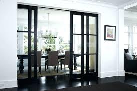french door floor locks indoor and outdoor carpet dining room with