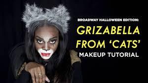 rafiki halloween costume diy grizabella u0027cats u0027 broadway makeup tutorial showtickets com