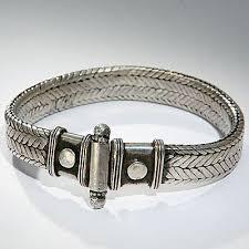 silver snake bracelet images Indian silver snake bracelet jpg