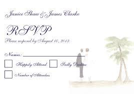 beach wedding invitation rsvp bride u0026 groom watercolor