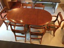 Yew Dining Table And Chairs Yew Dining Room Table Chair Sets Ebay