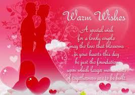 wedding wishes message 52 happy wedding wishes for on a card