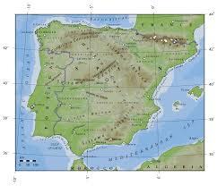 Spain Maps by Spain Climate Map U2022 Mapsof Net