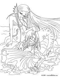 emejing coloring pages mermaids printable photos podhelp