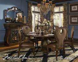 2 318 00 the sovereign round dining table by michael amini d2d