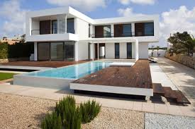 swimming pool house plans summer house plans with swimming pool design in menorca spain
