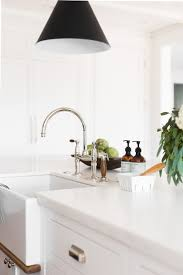 Unlacquered Brass Faucet Waterworks by Windsong Project Great Room Kitchen Mudroom Studio Mcgee