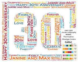 30 year anniversary gift ideas 30th anniversary gift ideas