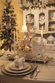 dining room table setting for christmas 27 white christmas table decorations ideas table decorations