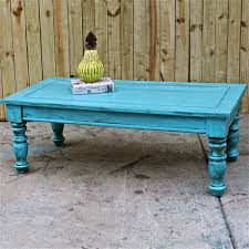 Shabby Chic Furniture Living Room Bayside Blue Coffee Table Table Vintage Shabby Chic