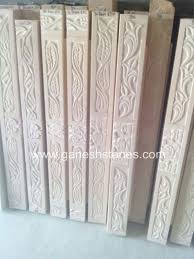 traditional carving stone chokhat door frame u2013 ganesh stones