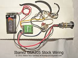 gsr205 wiring re jiggery advice please gio series ibanez forum