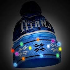 nfl s light up beanie tennessee