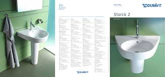 starck 2 duravit pdf catalogues documentation brochures