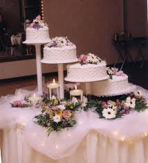 cake stands for wedding cakes spiral wedding cakes s bakery