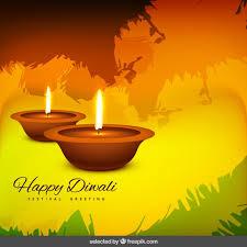 happy diwali festival greeting vector free