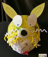 paper mache easter bunny how to paper mache make a bunny easter craft