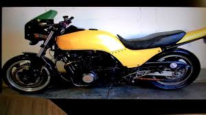 kawasaki gpz1100 1 start unused for a while yellow corroded u0026 no