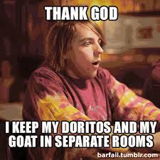 Doritos Meme - it is a dangerous combination football meme superbowl doritos