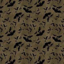 grey bat fabric yardage come sit a spell wilmington prints