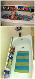 Portable Shower Curtain Rod Bathtub Organizer Place The Shower Curtain Rod On The Wall