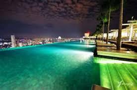 Pool At Night Infinity Pool At Night Singapore Tanama Tales