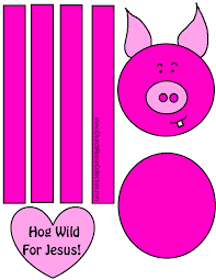 church house collection blog hog wild for jesus pig craft for