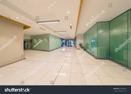 perspective modern lobby hallway five stars stock photo 203996023
