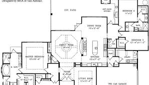 1 floor house plans open floor house plans house plan w3271 detail from