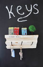 Key Holder Wall How To Make A Fun Wall Key Holder From Junk Pillar Box Blue