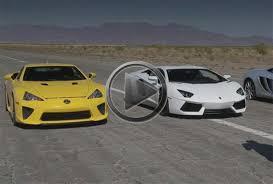 lamborghini aventador vs bugatti veyron lamborghini aventador vs bugatti veyron vs lexus lfa vs mclaren