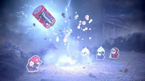 colors splash paper mario color splash wii u review flinging hue throwing