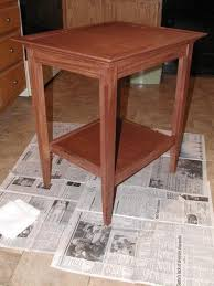 Wood Plans For Small Tables by 23 Popular Woodworking End Table Plans Egorlin Com